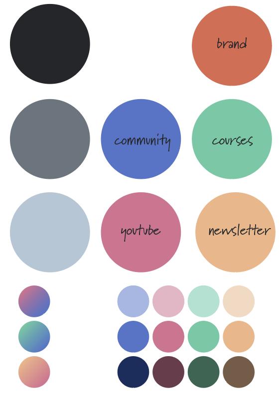 my color scheme
